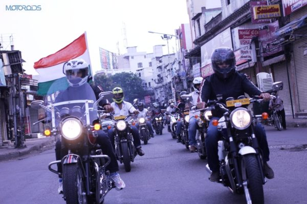 Triumph Riders - Independence Day Ride