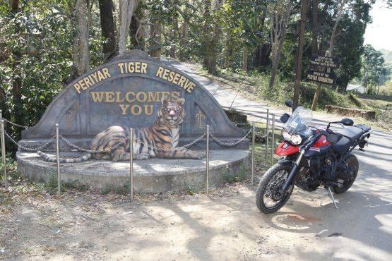 Triumph tiger Kanyakumari to Kashmir (2)