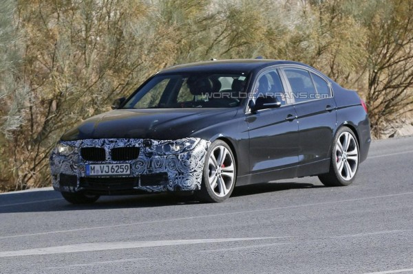 Upcoming BMW 3-Series Facelift Spied