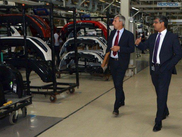 Volkswagen Plant, Chakan (1)