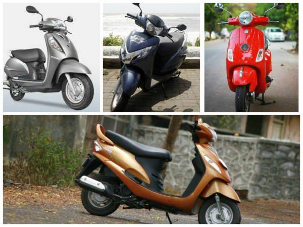 125 cc scooter comparo