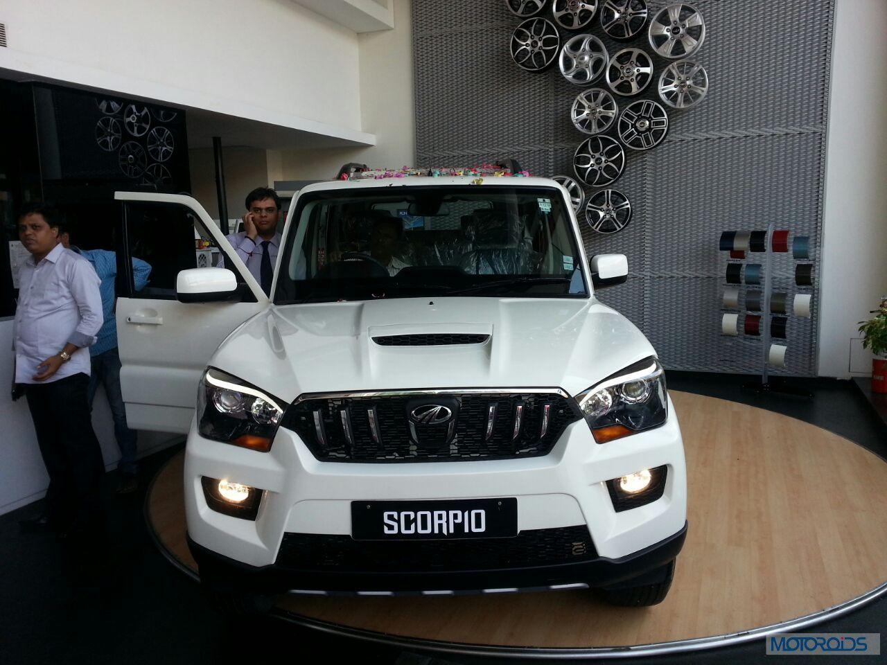 New 2014 Mahindra Scorpio Live From The Launch Motoroids