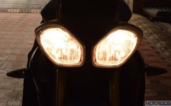 2014 Triumph Street Triple Headlights