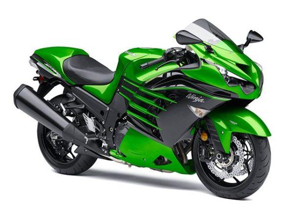 2015 Kawasaki ZX-14R Green (1)