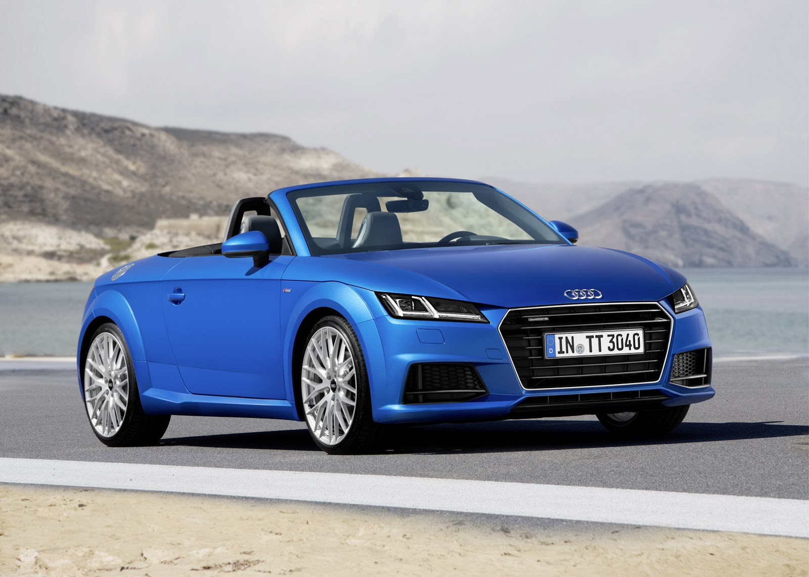 2016 audi tt roadster revealed motoroids. Black Bedroom Furniture Sets. Home Design Ideas