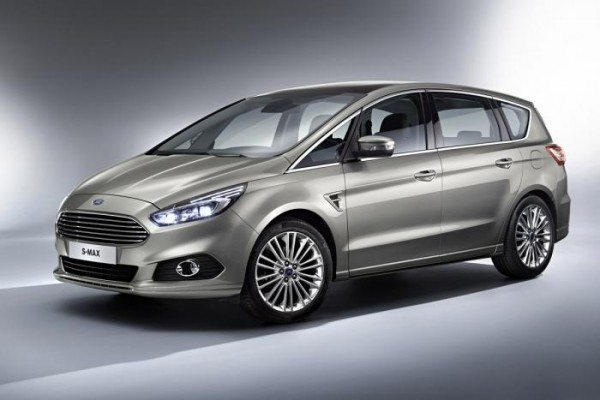 All-New 2015 Ford S-MAX Seven-Seater Minivan revealed (1)