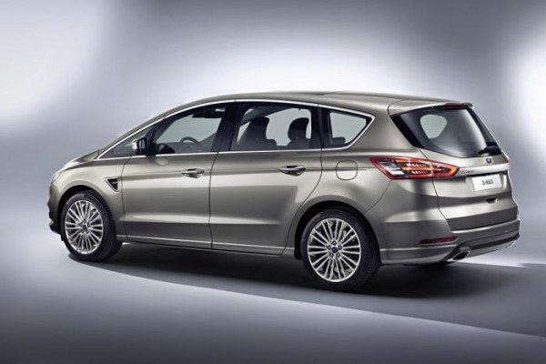 All-New 2015 Ford S-MAX Seven-Seater Minivan revealed (2)