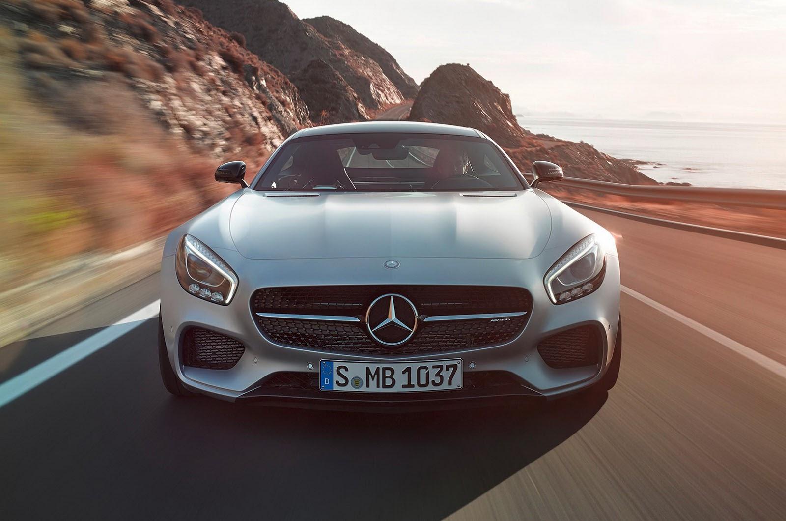 All New 2016 Mercedes Benz Amg Gt Images Amp Details
