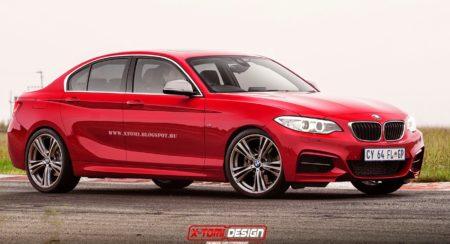 BMW 1 Series Sedan coming soon; gets rendered (3)