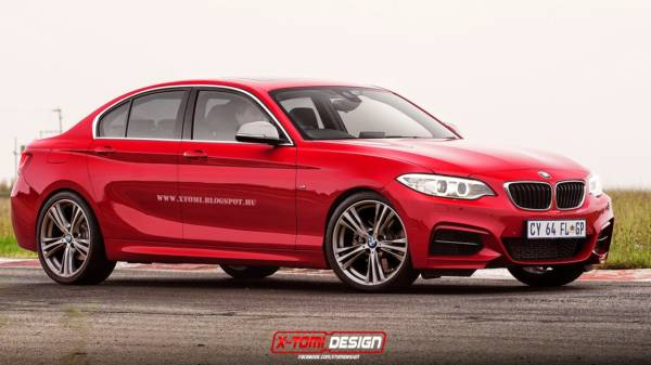 BMW 1 Series Sedan coming soon; gets rendered (3)