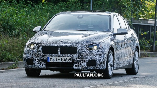 BMW 1-series spy pictures (1)