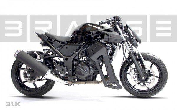 Brasse 31BLK- Insane Kawasaki Ninja 250 modification (6)