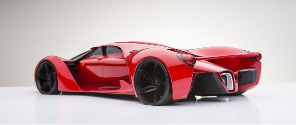 Ferrari F80 Supercar Concept dreams up LaFerrari succesor (13)