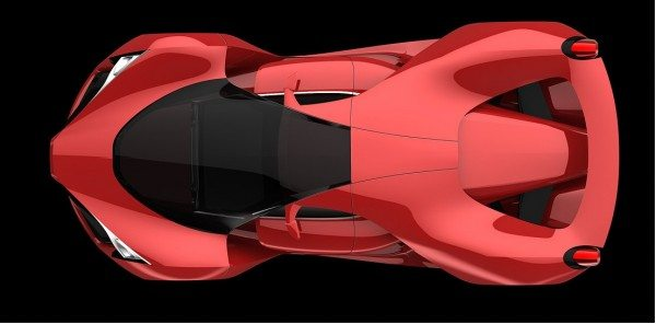 Ferrari F80 Supercar Concept dreams up LaFerrari succesor (3)