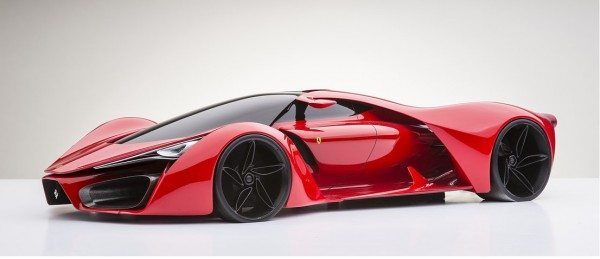 Ferrari F80 Supercar Concept dreams up LaFerrari succesor (4)