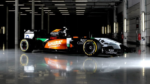 Motor Racing - Sahara Force India F1 VJM07 Studio Shoot - Silverstone, England