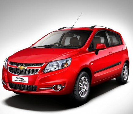 General Motors India Launches New Chevrolet SAIL Sedan ...