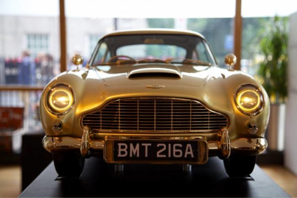 Gold Plated Aston Martin DB5 scale model sells for 55 Lakh Rupees (4)