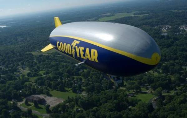 Good Year Wingfoot One Blimp