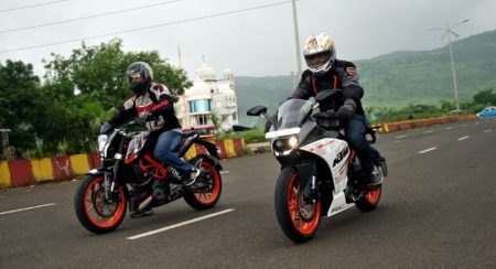 KTM bikes in India now cost more