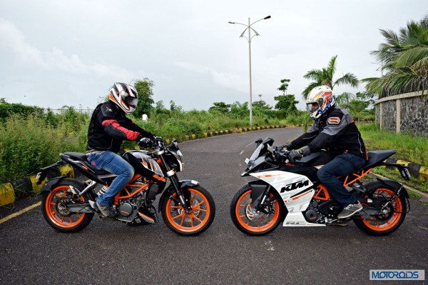 KTM Duke 390 vs KTM RC 390 Which one should you buy A ready reckoner (5)