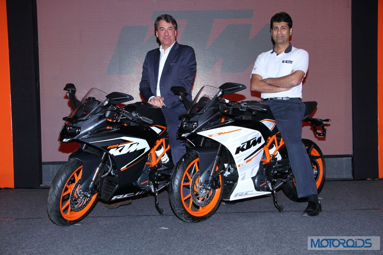 Official Release New Ktm Rc390 And Rc200 Launched Motoroids