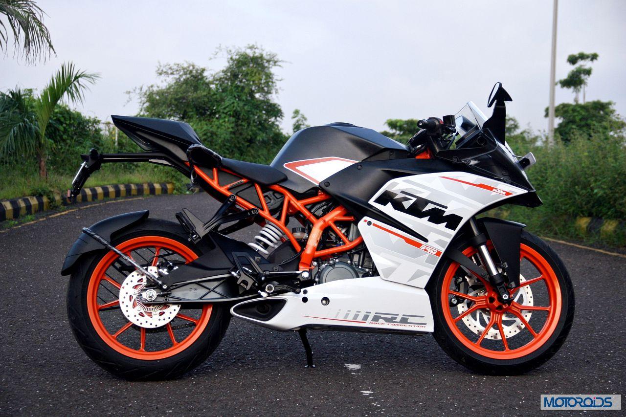Ktm Rc390 Review Side Profile 1 Motoroids Com