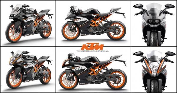 KTM RC390 re-imagined by Motoroids fan- do you like it (1)