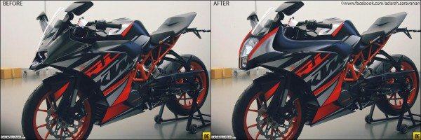 KTM RC390 re-imagined by Motoroids fan- do you like it (2)