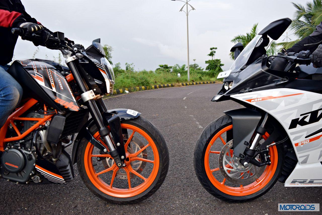 Ktm Rc390 Vs Kawasaki Ninja 300 Vs Ktm Duke 390 24