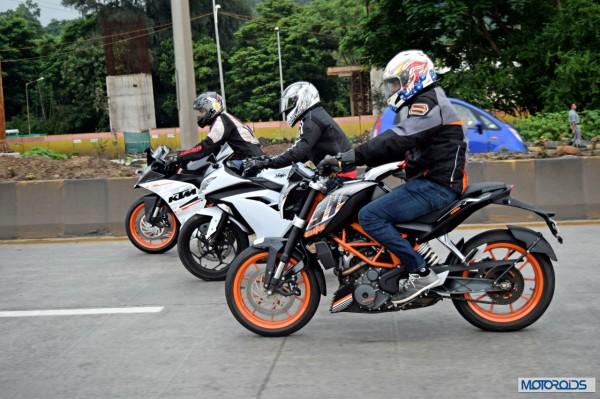KTM RC390 vs Kawasaki Ninja 300 vs KTM Duke 390 (33)