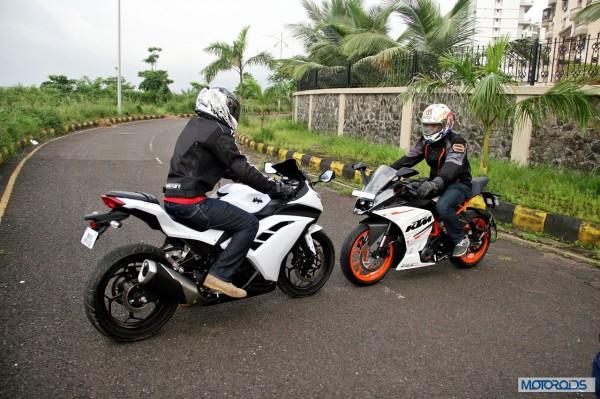 KTM RC390 vs Kawasaki Ninja 300 vs KTM Duke 390 (67)