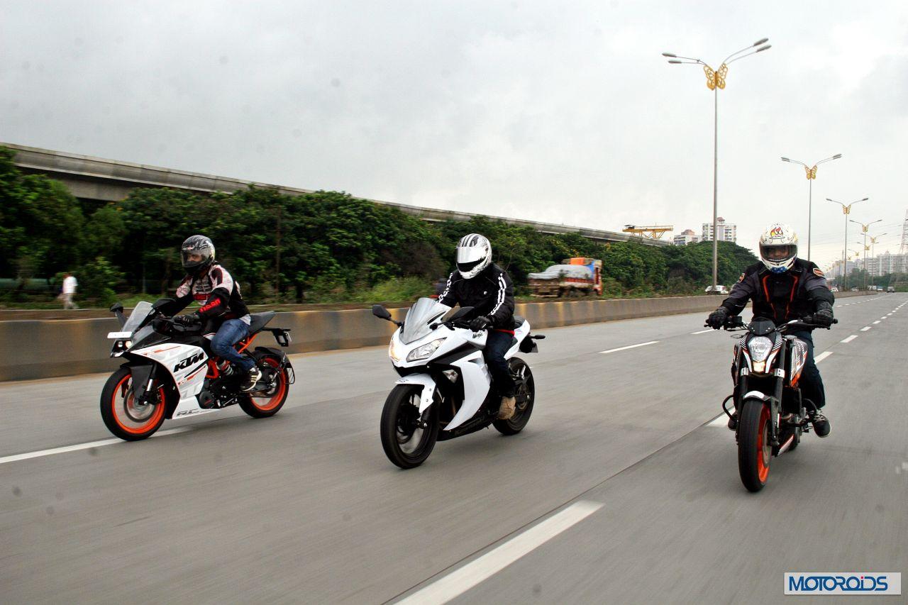 Ktm Rc390 Vs Kawasaki Ninja 300 Vs Ktm Duke 390 89