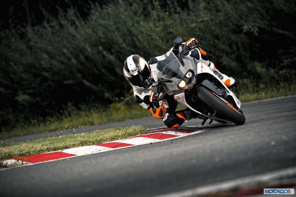 KTM Rc390 track
