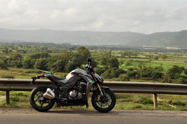 Kawasaki Z1000 long ride