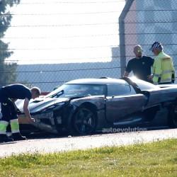 Koenigsegg Agera R Crashed At the Ring
