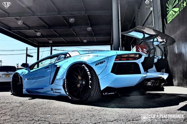 LB Works Lamborghini Aventador - 4