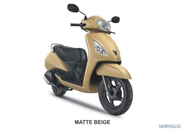 MATTE BEIGE - TVS Jupiter