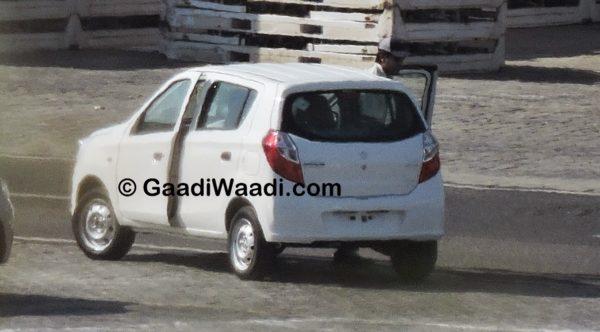 Maruti Suzuki Alto K10 facelift spied; production starts (10)
