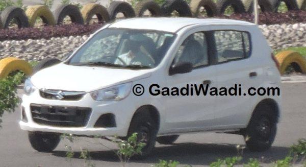 Maruti Suzuki Alto K10 facelift spied; production starts (4)