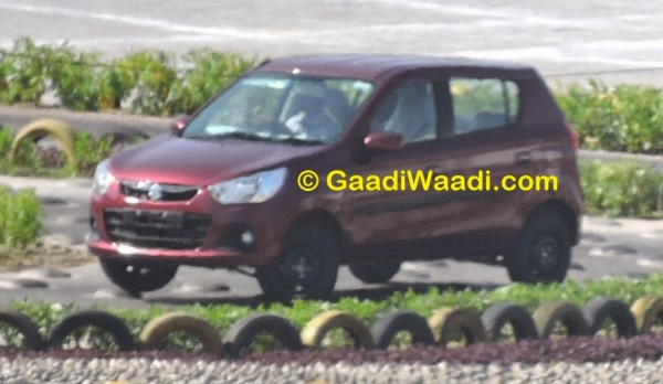 Maruti Suzuki Alto K10 facelift spied; production starts (6)