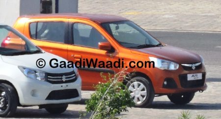 Maruti Suzuki Alto K10 facelift spied; production starts (8)