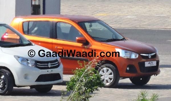 Maruti Suzuki Alto K10 facelift spied; production starts (8)