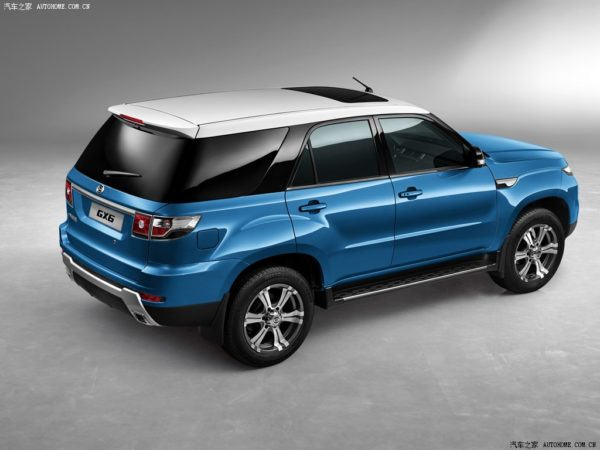 Meet the Range Rover Sport clone from China- the Gonow GX6 (4)