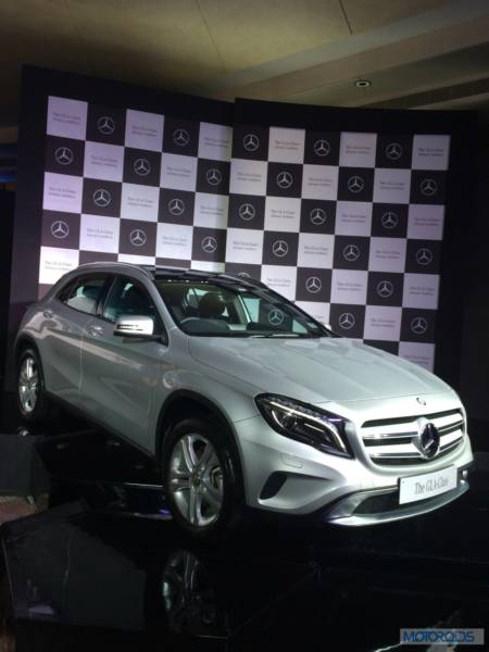 Merc GLA launch (1)
