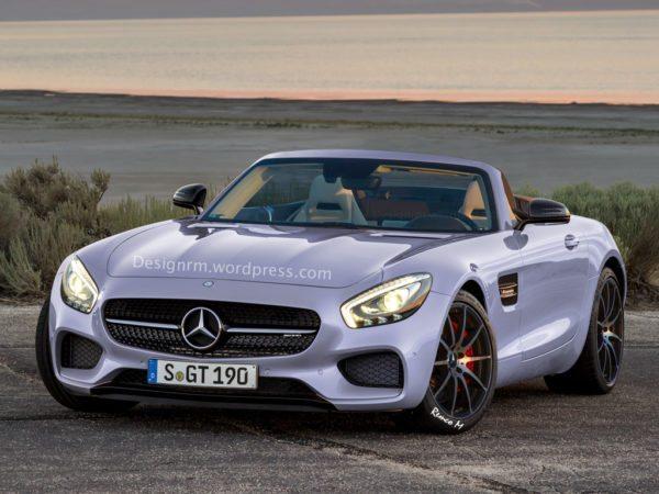 Mercedes-Benz AMG GT Roadster gets rendered (2)