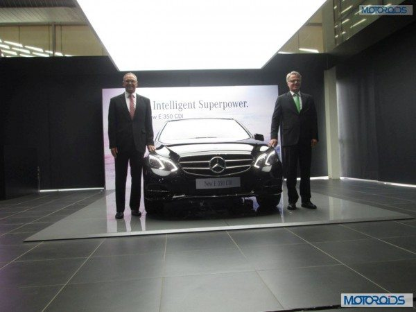 Mercedes-Benz E350 CDI: Live from the Launch