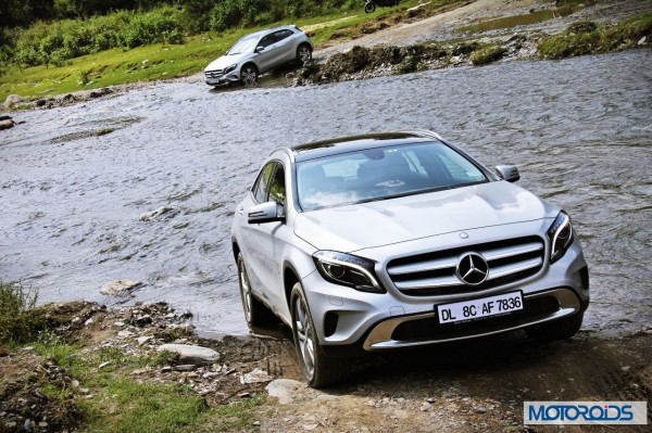 Mercedes GLA India off-road (1)