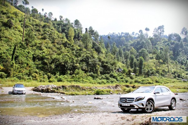 Mercedes GLA India off-road (8)