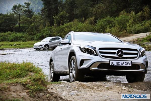 Mercedes GLA class front (13)